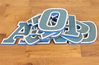 "12 Vintage 1960s Shop Sign Letters ""Scotland"" (3 of 6)"