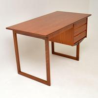 1960's Danish Teak Desk by VI-MA Mobler (7 of 12)