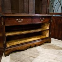 19th Century Gothic Library Bookcase (4 of 11)