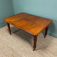 Small Quality Mahogany Antique Victorian Extending Dining Table (3 of 9)