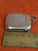 Antique Sterling Silver Hallmarked Vesta Case (3 of 12)