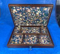 Victorian Mahogany Collectors Box (5 of 10)