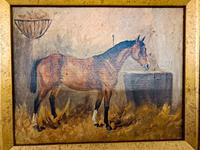 Oil on Canvas of a Chesnut Mare (2 of 4)