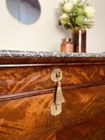 French Antique Drawers / Louis Philippe Commode / Mahogany Chest of Drawers (5 of 7)