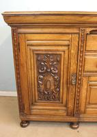 Antique Late 19th Century Oak Sideboard Dresser Base. (10 of 14)