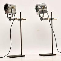 1950's Pair of Vintage Spotlights / Table Lamps (3 of 15)