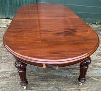 Super Quality Victorian Mahogany Extending Dining Table Seats 14 (9 of 18)