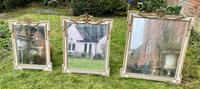Set of Three Painted & Gilt Mirrors (3 of 9)