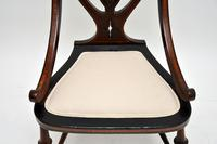 Antique Edwardian Inlaid Mahogany Side Chair (8 of 9)
