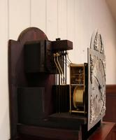 Westminster Chime Mahogany Grandmother Clock (11 of 12)