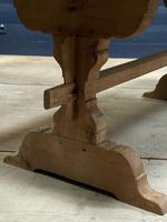 Smaller French Farmhouse Bleached Oak Dining Table (17 of 17)