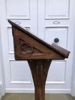 Victorian Oak Church Lectern c.1870 - Ecclesiastical Wedding Interest (5 of 16)