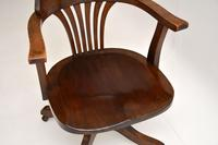 Antique Victorian Swivel Desk  Chair (6 of 12)