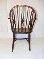 Georgian Yew-wood Windsor Elbow Chair (4 of 7)