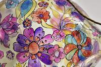 1960s Hand Painted Demi John Lamp with Floral Pattern (22 of 22)