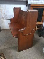 Small Antique Church Pew (4 of 5)