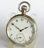 1930s Silver Cyma Pocket Watch