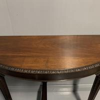 Pair of Wall Mounted Demi Lune Console Tables (2 of 6)