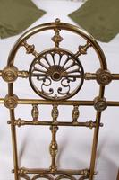 Handsome Super King Size Victorian all Brass Bed (5 of 12)