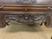 Maple and Co. Large Mahogany Cylinder Desk (18 of 25)