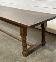 Wonderful Antique Large Refectory Farmhouse Dining Table (7 of 31)