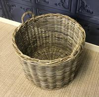 Wicker Log Basket (2 of 4)