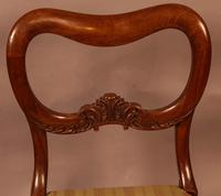 Set of 6 Early Victorian Mahogany Dining Chairs Possibly Gillows (9 of 12)