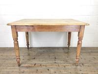 Antique Pine Farmhouse Kitchen Table (8 of 10)