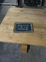 French Oak Refectory Farmhouse Dining Table (12 of 12)