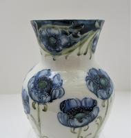 William Moorcroft, Macintyre Florian Ware Blue Poppy c.1900 (4 of 11)
