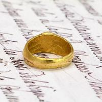 The Ancient 9th - 11th Century Gold Michael Ring (4 of 4)