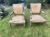 Pair of Directoire Style Armchairs (6 of 6)