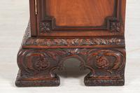 Mahogany Chippendale style 2 door display cabinet (10 of 11)