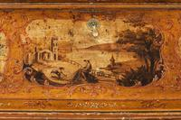 Mid 18th Century Venetian Lacquered and Gilded Bureau (7 of 8)