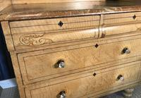 Early Victorian Pine Chest of Drawers in Original Paint (6 of 17)