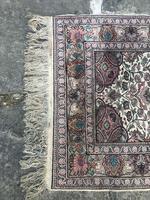 Antique Mughal Kashmir Wool Carpet (4 of 8)