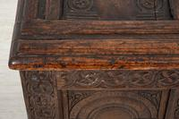 Wonderful Carved Oak Coffer (6 of 10)