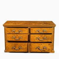 Fine George IV Burr Oak Chest of Drawers in the manner of Morel and Seddon (8 of 9)