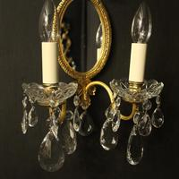 French Pair of Twin Arm Antique Girandoles (10 of 10)