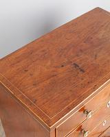 19th Century Mahogany Miniature Chest of Drawers (3 of 5)