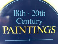 Antique Shop Advertising Sign 18th-20th Century Paintings Jewellery Works Of Art (2 of 12)