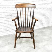 Antique Stick Back Armchair (6 of 6)