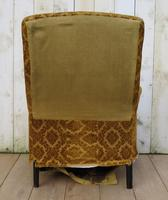 Antique Napoleon III High Back Armchair for re-upholstery (6 of 8)