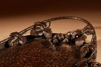 Fine Wrought Iron Grapevines Tray (9 of 11)