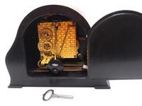 Wow! Fine Arched Top Art Deco Mantel Clock – Musical Westminster Chiming 8-day Mantle Clock (8 of 9)
