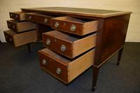 Lovely Antique Mahogany Desk (3 of 9)