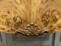 Queen Anne Burr Walnut Kidney Dressing Table (7 of 17)