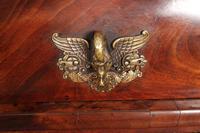 Beautiful Large Flame Mahogany Cylinder Desk (15 of 30)