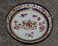 19th Century Samson Armorial Comport Decorated with a Heraldic Crest (2 of 6)
