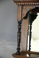 Victorian Inlaid Rosewood Overmantle Mirror Shelf (11 of 12)